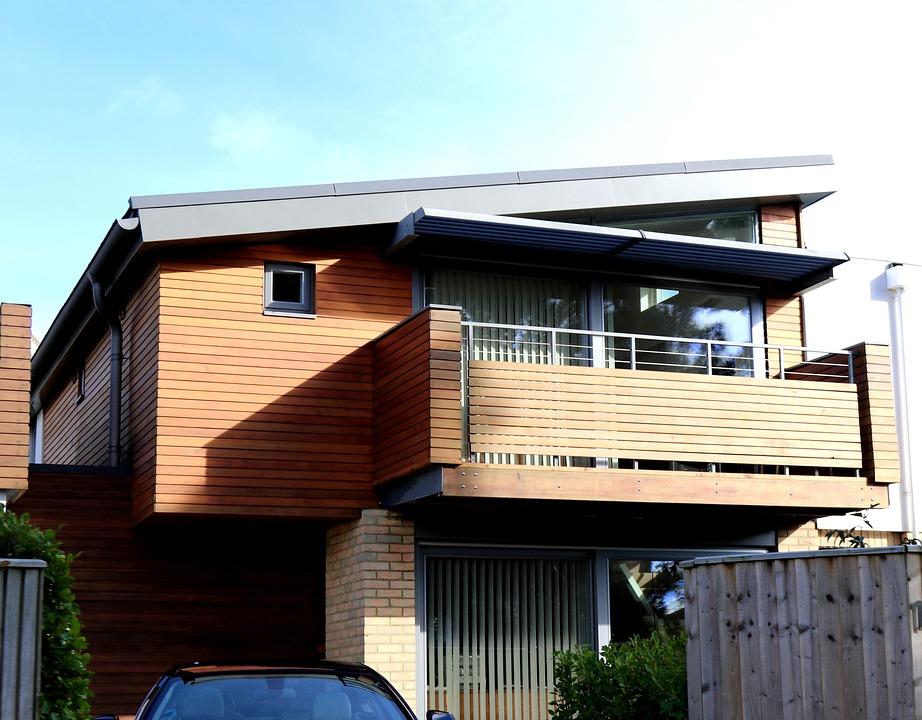 Modern, letisztult, minimalista családi ház