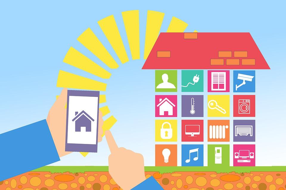 Ház vezérlése mobiltelefonon keresztül
